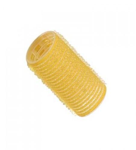 Comair Бигуди-липучки (уп. 12 шт.), d 32 mm, желтые