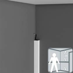 Плинтус, карниз, молдинг PX164, 200 x 2.4 x 3 cm