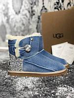 Женские Угги UGG Cowboy Half blue