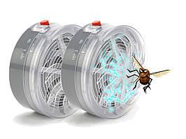 Уничтожитель насекомых электрическим током на солнечной батарее (отпугиватель)