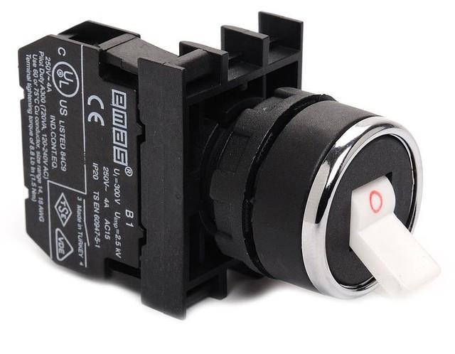 Кнопка-тумблер (1НЗ) B200C
