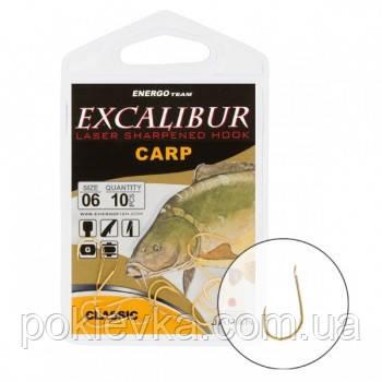 Крючок Excalibur Сarp Classic Gold 10