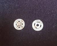 Кнопки пластиковые пришивные белые прозрачные, диаметр 7 мм, упаковка 36 шт., фото 1