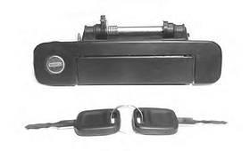 Ручка двери Audi 80 B3 1987-1991 передняя правая  KEMP
