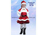 """Карнавальний костюм """"Новий Рік"""" дівчинка 2851"""