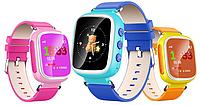 Детские умные Smart часы Q80 (Q60s), синие