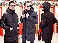 Мужское зимнее пальто на синтепоне, фото 1