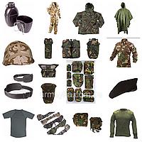 MIX військової екіпіровки. NATO, оригінал. 1-й сорт