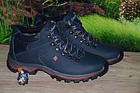 Ботинки подросток кожа М38син качество люкс Columbia 35 36 37 38 39