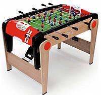 Деревянный полупрофессиональный футбольный стол, складной, Millenium, Smoby