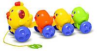 Музыкальная каталка Курочка с цыплятами, BeBeLino
