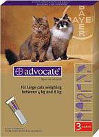 Адвокат капли для кошек 4-8 кг 1пипетка