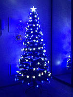 """Елка новогодняя, светящаяся, светодиодная """"Звездное небо"""" 180 см, zn180"""
