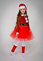 Карнавальный костюм подружка Санта Клауса