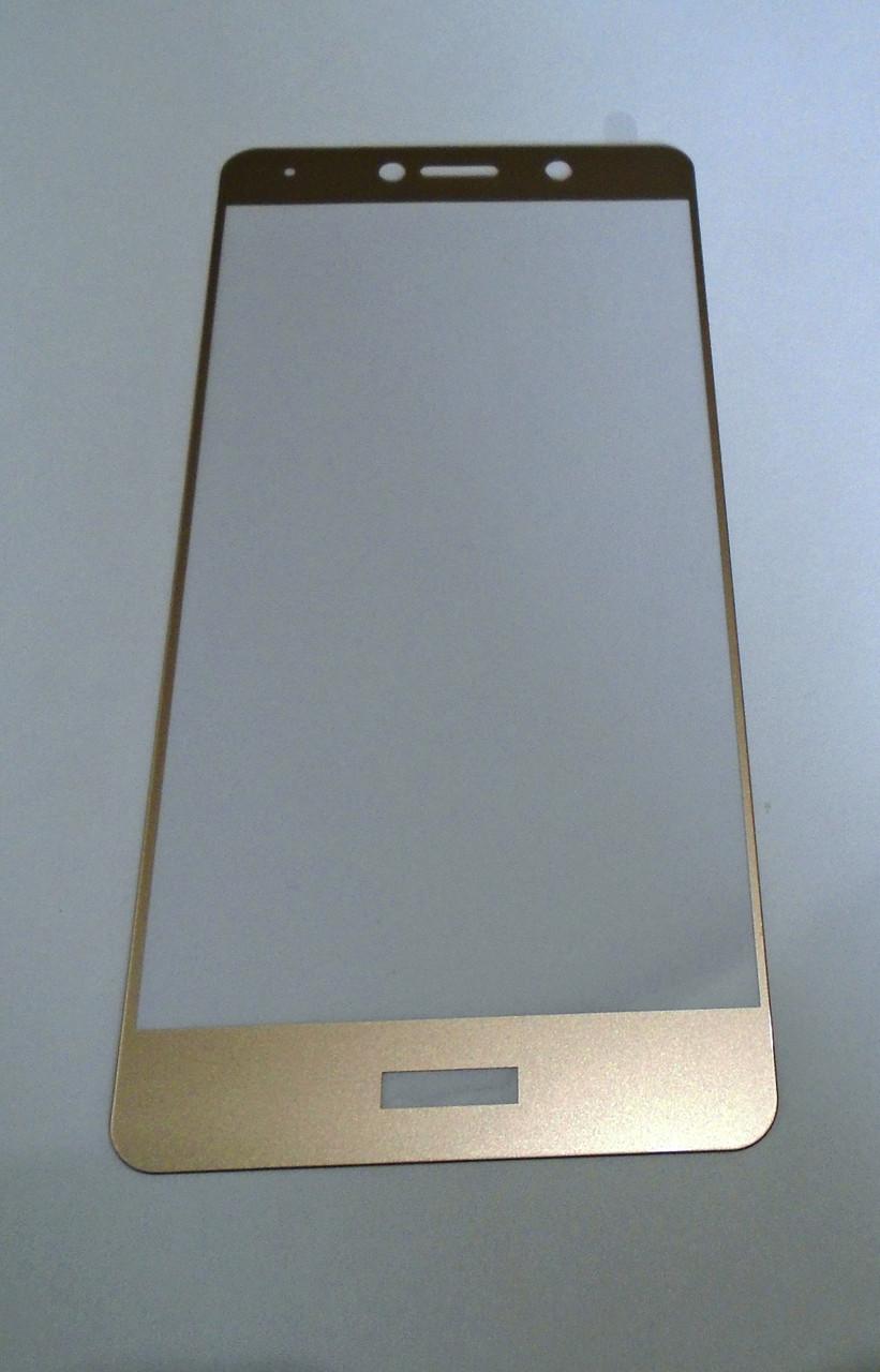 Защитное стекло Huawei Y7 Prime Gold 3D full Screen