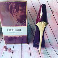 Женская парфюмированная вода CAROLINA HERRERA Good Girl New York ( Бордовая )