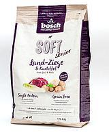 Bosch Soft Senior Farm Goat & Potato 12,5кг-для пожилых собак дикая коза с картофелем