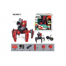 Робот-паук интерактивный на пульте лазер диски, фото 2
