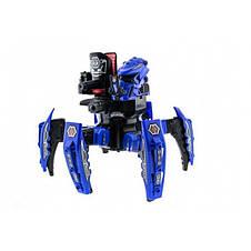 Робот-паук интерактивный на пульте лазер диски, фото 3