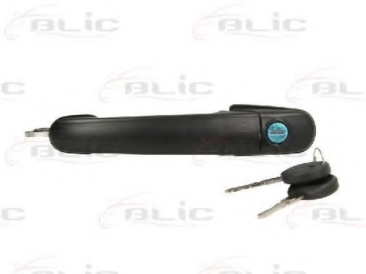 Ручка дверей Ford Galaxy передня L/R з ключем