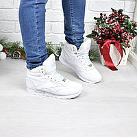 Кроссовки Reebok белые Зима 3927 , ботинки женские