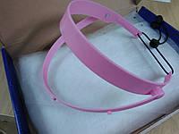 Маска защитная со сменными щитками, розовая