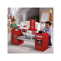Оригинал. Интерактивная детская кухня красная Little Tikes 626012