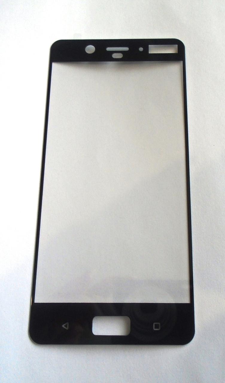 Защитное стекло Nokia 8 Black 3D full Screen