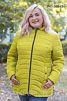 Стильная куртка больших размеров PK1-300 ( р.52-62), фото 1