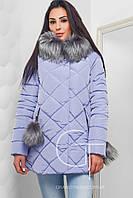Женская зимняя куртка на молнии