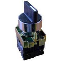Кнопка ВD33 3-х позиционный переключатель 29mm NO + NO Electro