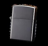 Электроимпульсная USB зажигалка WEXT Classic чёрный металлик