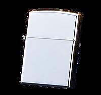 Электроимпульсная USB зажигалка WEXT Classic серебристый металлик