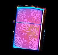 Электроимпульсная USB зажигалка WEXT Classic градиент роза