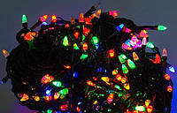 Гирлянда светодиодная разноцветная,синяя 500L SIX CORNER LED LIGHT
