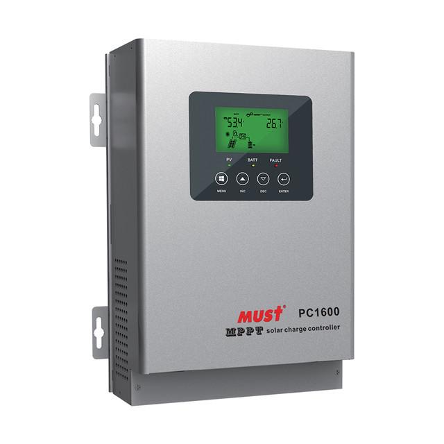 Контроллер зарядаMUST PC16-4515F (45 А, 12/24/36/48 В)