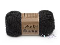 Kartopu Melange Wool, № К1010 Черный