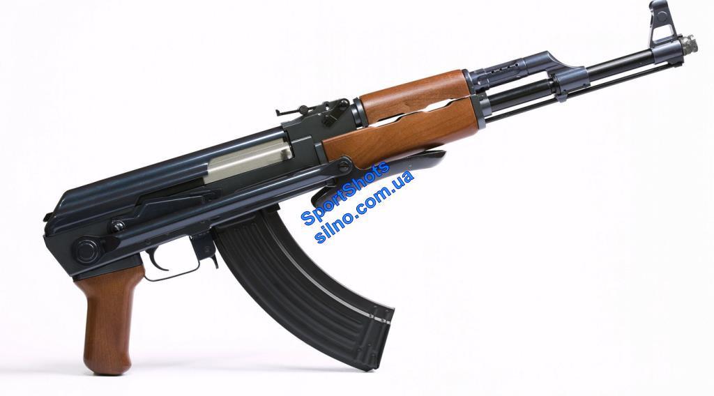 АКС-47 фрезерованная рама (Автомат Калашникова кал7,62мм со складным под низ прикладом) Макет массогабаритный