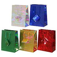 Пакет подарочный голография (32*45*10) К21.027