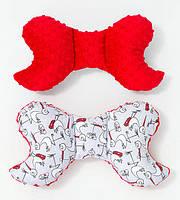 Подушка – позиционер детская ТМ BabySoon Аисты 32 х 24 см цвет красный