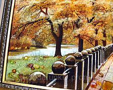 Картина набережная Харьков из янтаря, фото 2
