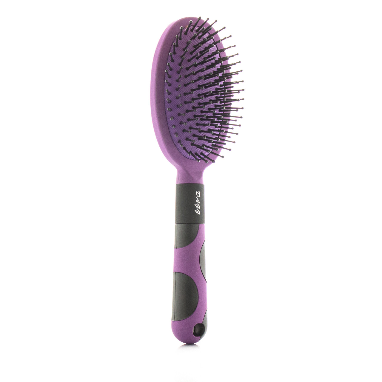 Расческа для волос массажная сиреневая
