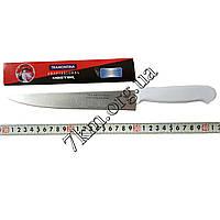 Нож кухонный с белой ручкой Tramontina №3 32 см.Оптом Т468