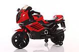Ел-мобіль T-7212 мотоцикл 2*6V4.5AH мотор 2*15W 95*47*63, фото 2