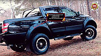 Розширювачі колісних арок (винос 60 мм) Mitsubishi L200 2015+ р. в. Митсубили Л200