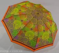 """Зонт женский полуавтомат с цветочным принтом от фирмы """"Love Rain"""""""