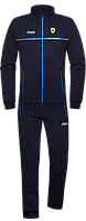 Спортивный костюм мужской зимний с начесом темно-синий