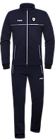 Спортивный костюм мужской зимний с начесом темно-синий серый