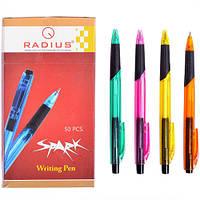 Ручка Spark шарик.корпус 6 цв.по 50шт.стержень синего