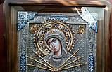 Елітна ікона Божої Матері Семистрельная скань, фото 3
